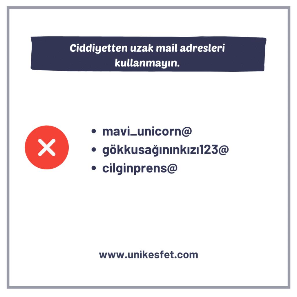 7-Kullanılan mail adresiniz hala M.Ö. 'den kalma mı?