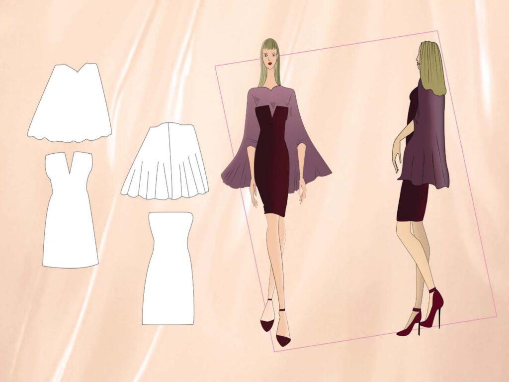 moda tasarım çizimi selenay çetintaş